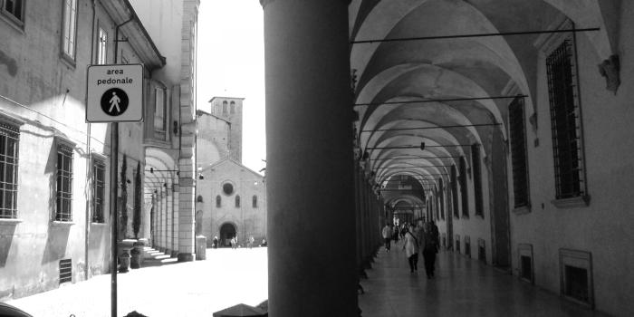 The porticoes of Bologna