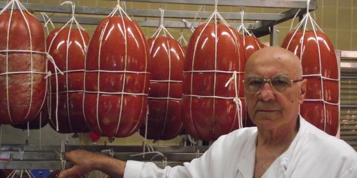Addio a Ennio Pasquini, l'artigiano della mortadella